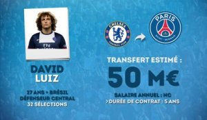 Officiel : le PSG s'offre David Luiz !