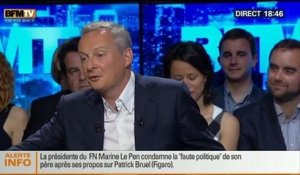 BFM Politique: L'interview de Bruno Le Maire par Christophe Ono-dit-Biot du Point - 08/06 3/6