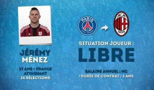 Officiel : Ménez rejoint le Milan AC !