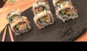 Makis inversés ou California Roll - 750 Grammes
