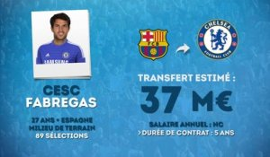 Officiel : Cesc Fabregas s'engage avec Chelsea !