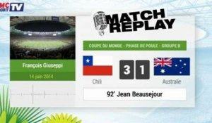 Chili - Australie : Le Match Replay avec le son RMC Sport !