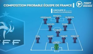 France vs Honduras : les compositions probables !