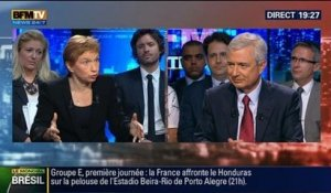 BFM Politique: Claude Bartolone face à Laurence Parisot - 15/06 5/6