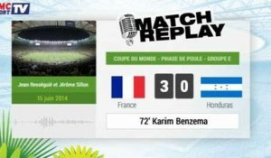 France - Honduras : Le Match Replay avec le son RMC Sport !
