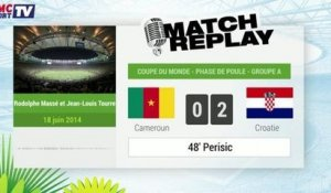 Cameroun - Croatie : Le Match Replay avec le son RMC Sport !