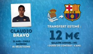 Officiel : Claudio Bravo rejoint le Barça !