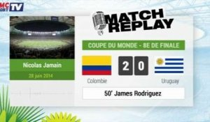 Colombie - Uruguay : Le Match Replay avec le son RMC Sport !