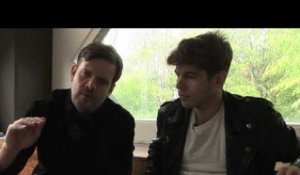 Klaxons interview - Jamie and James (part 1)