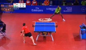 Jeux du commonwealth - point de folie au ping pong par Segun Toriola