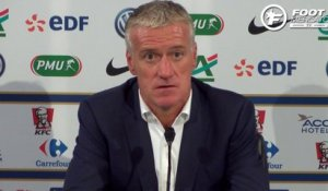 Deschamps encense Varane