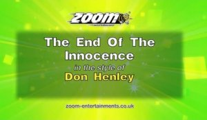 Zoom Karaoke - The End Of The Innocence - Don Henley