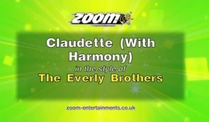 Zoom Karaoke - Claudette (With Harmony) - The Everly Brothers