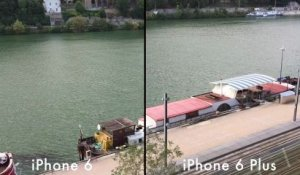 iPhone 6 Plus VS iPhone 6 test de stabilisation
