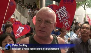 Hong Kong sous tension, violences contre les manifestants