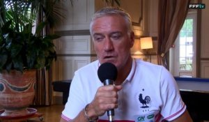 Face à face avec Didier Deschamps avant France-Portugal
