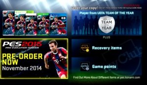 PES 2015 - Gameplay Trailer PS4 Xbox One