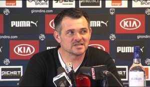 Point Presse - Willy Sagnol - Rennes vs Bordeaux