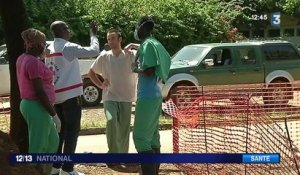 Ebola : un test de dépistage en 15 minutes mis au point en France.