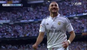 Le but de Karim Benzema !! 3-1 pour le Real Madrid