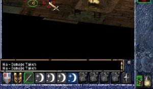 Baldur's Gate - Gameplay 1 - psx
