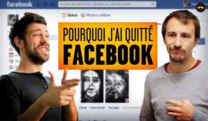 Pourquoi j'ai quitté Facebook | Why I left Facebook (Adrien Ménielle)