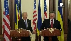 "À Kiev, Joe Biden dénonce ""l'agression russe"""