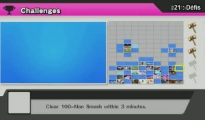 Super Smash Bros Wii U - Défis