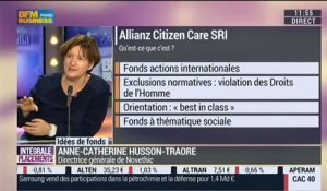 "Allianz Citizen Care SRI: ""un fonds qui marche relativement bien"": Anne-Catherine Husson-Traore - 26/11"