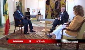 Macky Sall dans Internationales - Emission du 30 novembre 2014