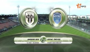 ANGERS SCO / ESTAC TROYES - Rediffusion du match Angers SCO / ESTAC Troyes