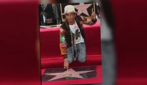 Pharrelll Williams reçoit son étoile sur l'Hollywood Walk Of Fame