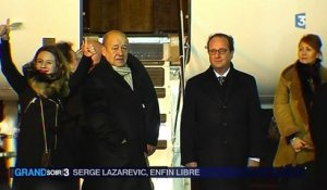 Serge Lazarevic retrouve la France