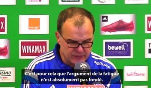 ASSE 2-2 OM : la réaction de Bielsa