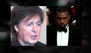 La collaboration de Kanye West et Paul McCartney fait pleurer Kim Kardashian