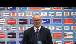 FOOT - L1 - ASM - Ranieri : «C'est le football...»