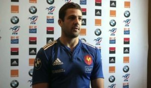 RUGBY - XV DE FRANCE : Dusautoir, capitaine record