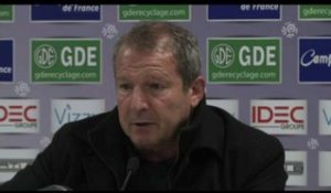 FOOT - L1 - MHSC - Courbis : «On ne va pas s'en plaindre»