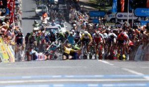 Final d'étape chaotique sur le Tour Down Under