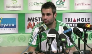 ASSE - Perrin : «On ne s'enflamme pas»
