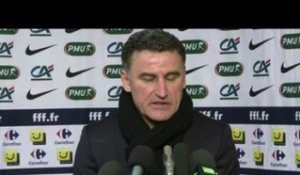 Foot - Coupe : Galtier, «Continuer cette aventure»