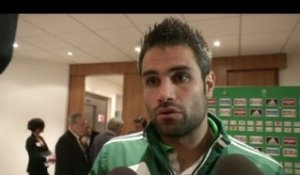 FOOT - L1 - ASSE - Perrin : «On a bien géré le match»