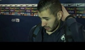 FOOT - BLEUS - Benzema : «Un match horrible»