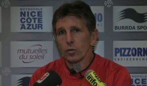 FOOT - C3 - OGCN - Puel : «Emballer le match»