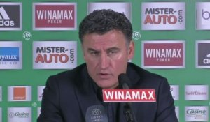 FOOT - L1 - ASSE - Galtier : «Le football est cruel»