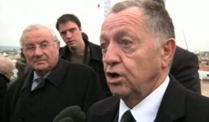 FOOT - L1 - OL - Aulas : «La satisfaction d'un grand moment !»