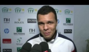 Tennis - Coupe Davis : Tsonga s'impose sereinement