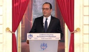 Ukraine : Hollande se place en chef de guerre