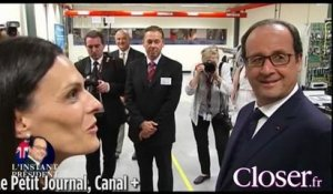 François Hollande surpris en train de draguer