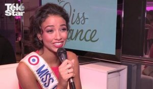 Miss France : Flora Coquerel, Miss France 2014, a repondu à nos questions